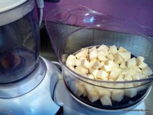 Jambon et sa purée de patate douce blanche, courgette et pointe de curry - bergamote family (2)