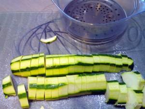 Jambon et sa purée de patate douce blanche, courgette et pointe de curry - bergamote family (3)