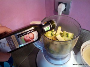 Jambon et sa purée de patate douce blanche, courgette et pointe de curry - bergamote family (5)