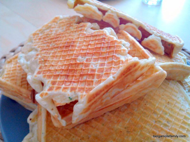 Gaufres à la courgette (recette facile) - Bergamote Family