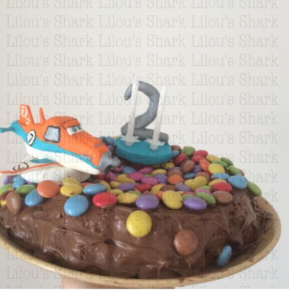 gâteau lilou's shark