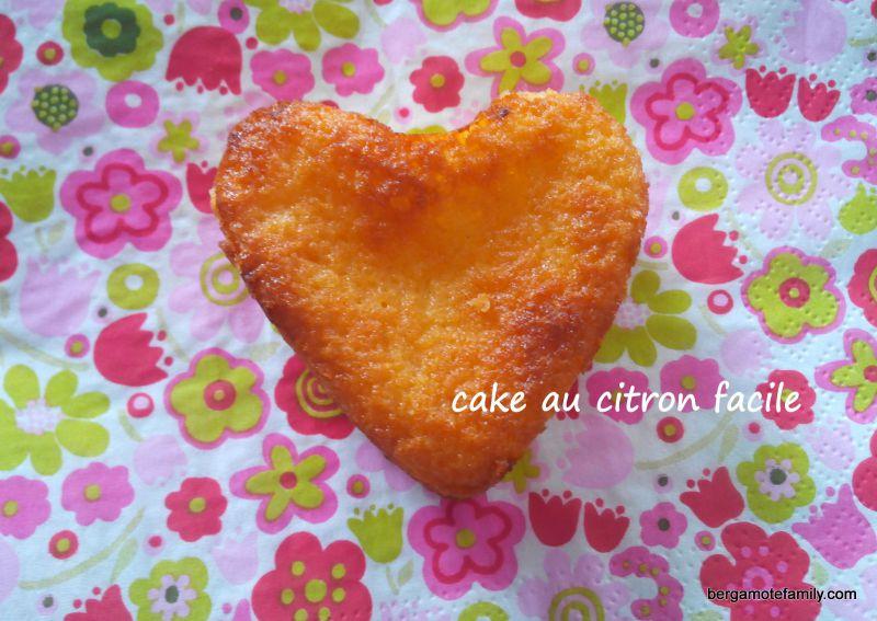 cake au citron - bergamote family 2
