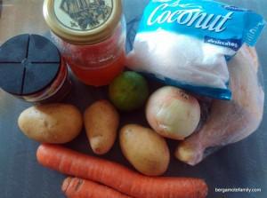 poulet créole - omnicuiseur - bergamote family