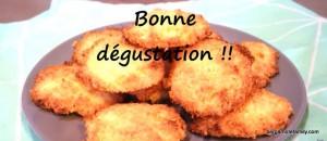 biscuits noix de coco - bergamote family