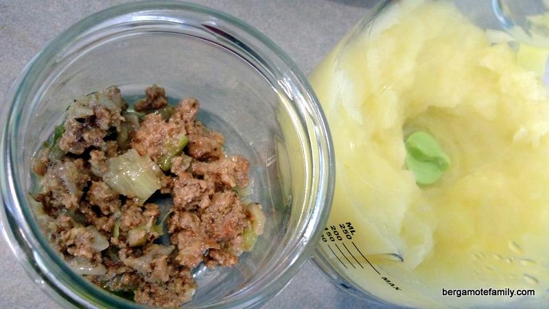 parmentier de boeuf au pâtisson - bergamote family