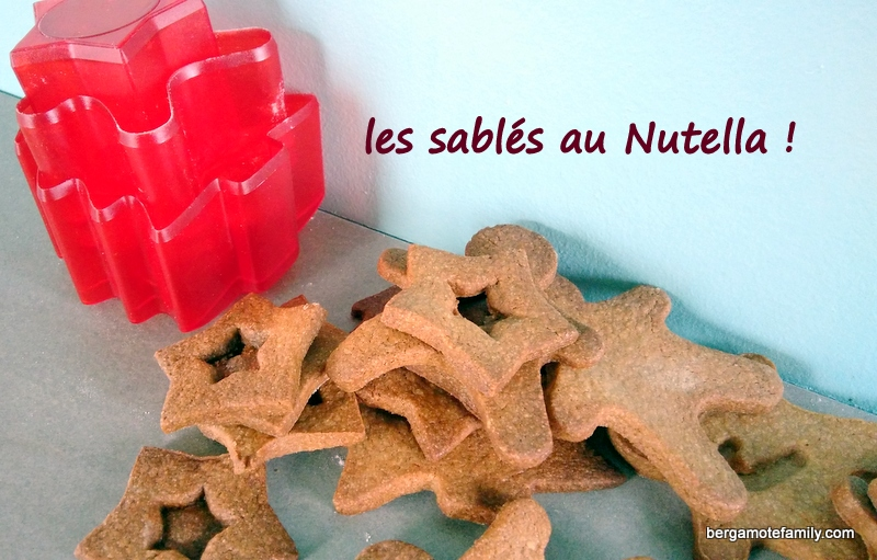 sablés au nutella - bergamote family (2)