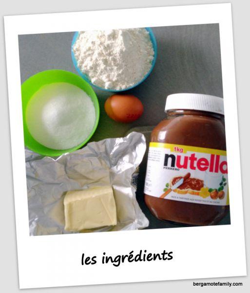 sablés au nutella - bergamote family