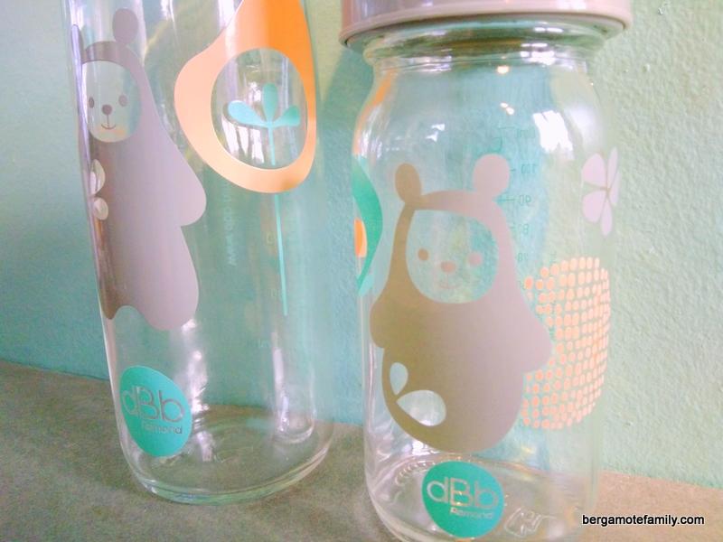 biberon en verre boa dbb remond - bergamote family