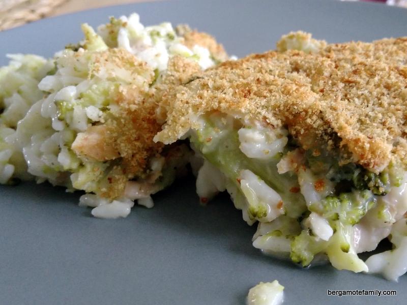 Gratin de brocoli au riz et au thon pour les petits - Cuisiner du thon en boite ...