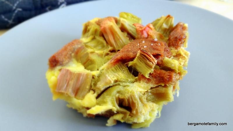 gratin de rhubarbe et spéculoos omnicuiseur - bergamote family (3)