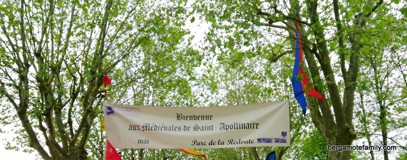 Médiévales saint-apollinaire - bergamote family