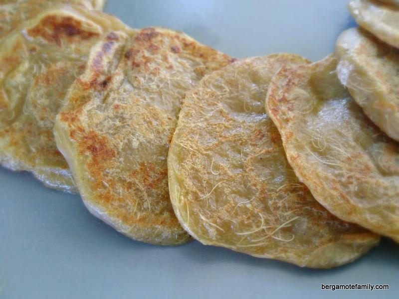 pancakes rhubarbe sans gluten lait oeuf - bergamote family (1)