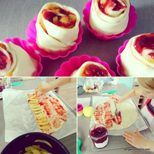 tartelettes au pétales de pomme Bonne Maman - bergamote family (2)
