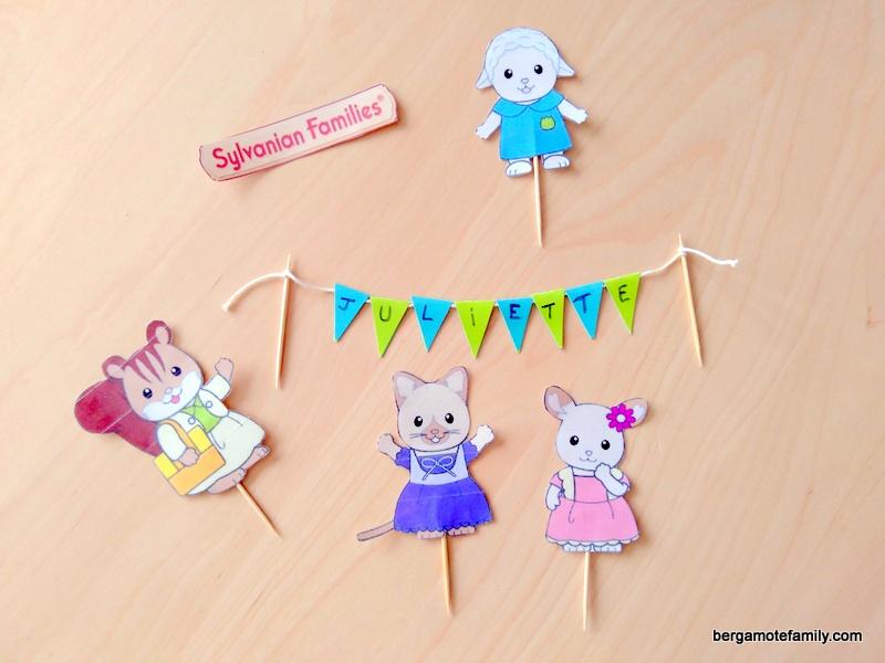 anniversaire sylvanian families - bergamote family (6)