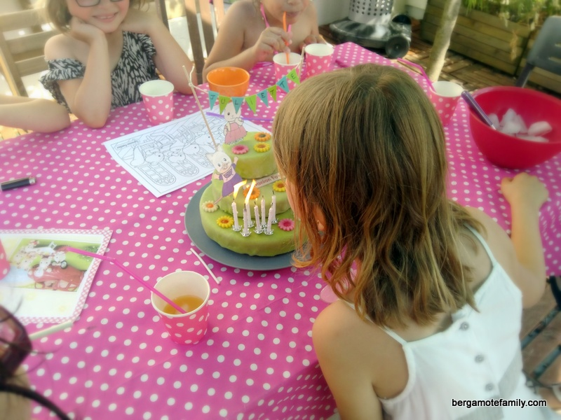 anniversaire sylvanian families - bergamote family (8)
