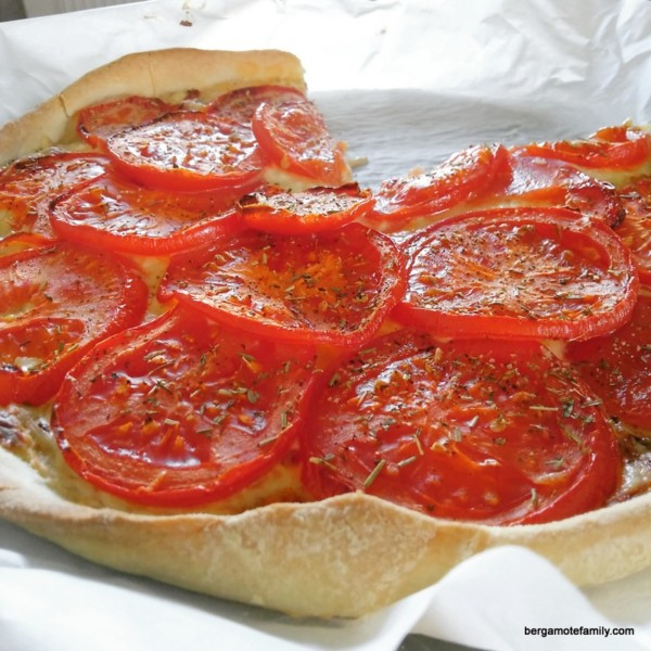 tarte à la tomate - bergamote family (2)