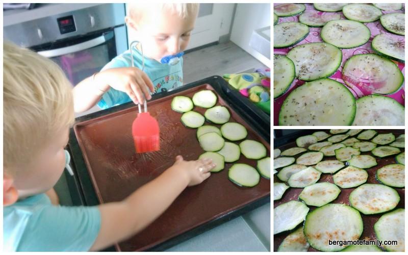 chips de courgette - bergamote family