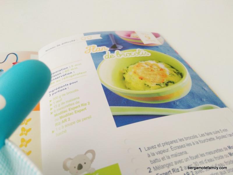 Cuisiner sans PLV pour bébé avec Modilac - Bergamote Family