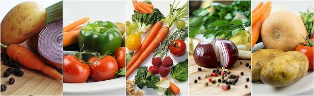 introduire les légumes