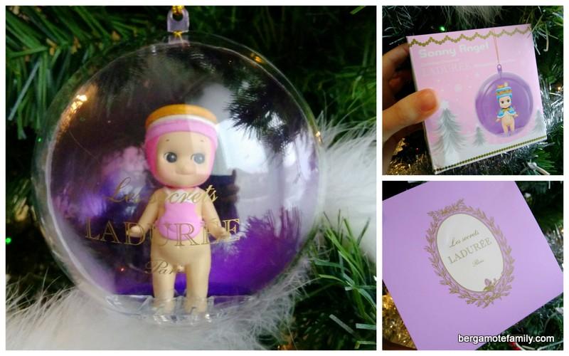 Noël avec Sonny Angel et Ladurée (concours !)   Bergamote & Family