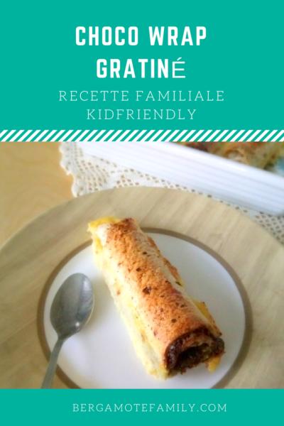 choco wrap gratiné - bergamote family
