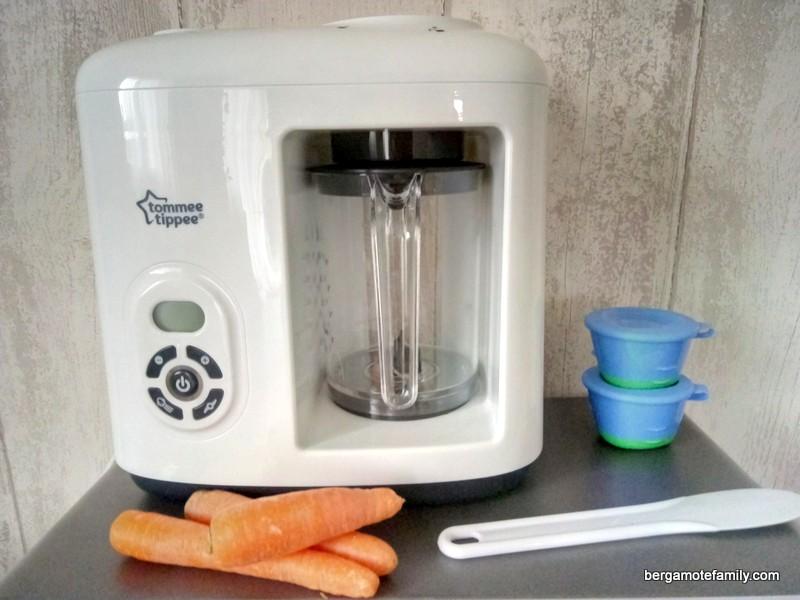 Zoom sur le robot cuiseur mixeur d 39 aliments pour b b for Robot pour cuisiner