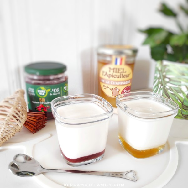 Faire ses yaourts à la confiture ou au miel