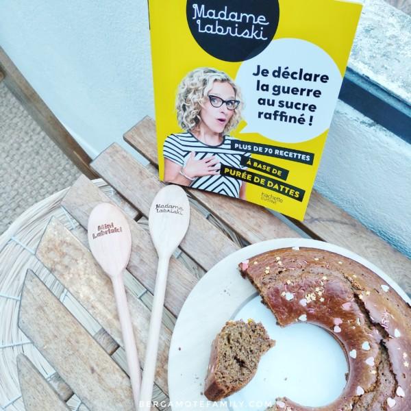 livre de cuisine à la purée de dattes de madame labriski - bergamote family