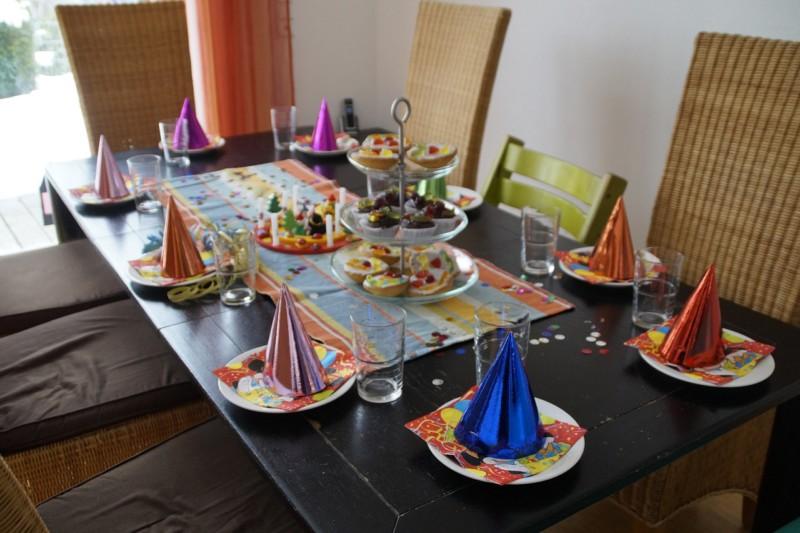 table anniversaire enfant