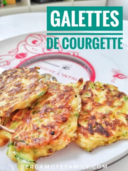 Pinterest recette galettes de courgette