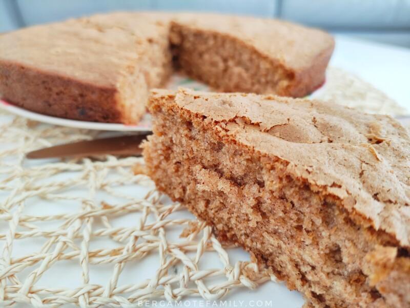 recette de goûter gâteau cannelle par bergamote family