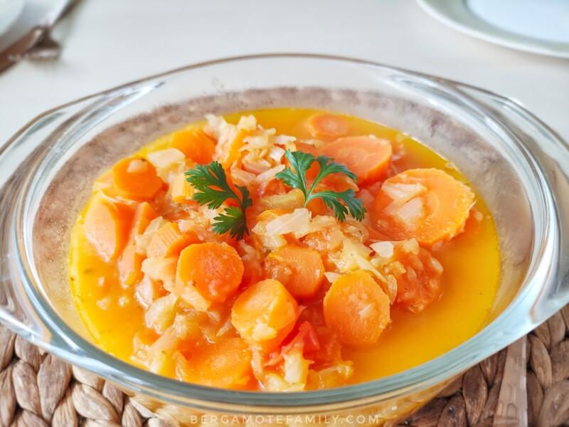 recette de ragout de carotte au compact cook platinum